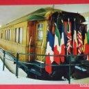 Postales: LOTE 3 POSTALES FIRMA ARMISTICIO 11 NOVIEMBRE 1918. EL VAGÓN DEL MARISCAL FOCH.. Lote 160049602
