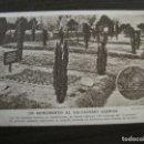 Postales: I GUERRA MUNDIAL-MONUMENTO SALVAJISMO ALEMAN-QUEENSTOWN-POSTAL ANTIGUA-VER FOTOS(58.722). Lote 161146550