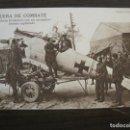 Postales: I GUERRA MUNDIAL-AVIADORES BRITANICOS CON AVION ALEMAN CAPTURADO-POSTAL ANTIGUA-VER FOTOS(58.724). Lote 161146918