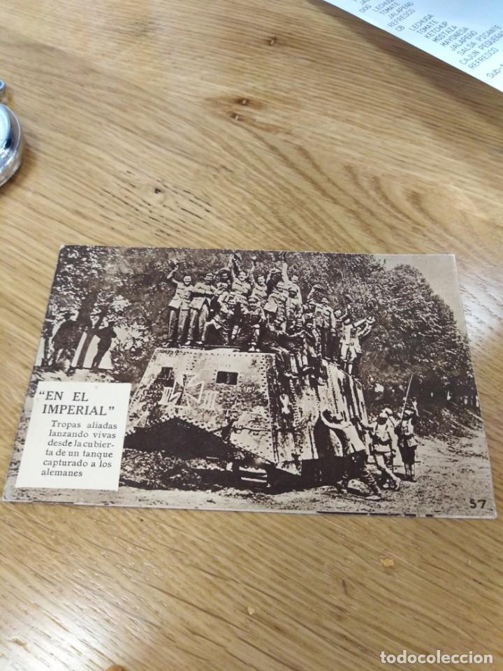 POSTAL DE TROPAS ALIADAS (Postales - Postales Temáticas - I Guerra Mundial)