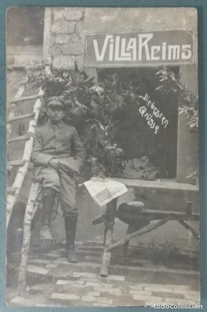 POSTAL O FOTOGRAFIA SOLDADO 1ª GUERRA MUNDIAL (Postales - Postales Temáticas - I Guerra Mundial)