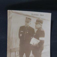 Postales: GENERAL JOFFRE. GUERRE 1914. POSTAL 1ª GUERRA MUNDIAL // IWW FRANCIA. FRANCE // CARTE. Lote 173391130