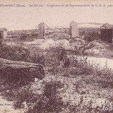 Postales: 129 BERRY AU BAC AISNE FRANCIA (SIN CIRCULAR). Lote 173469477