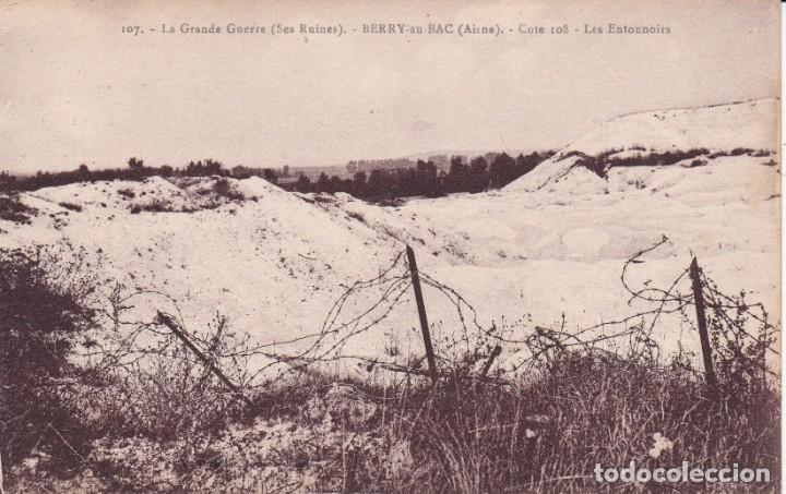 107 LA GRANDE GUERRE BERRY FRANCIA (SIN CIRCULAR) (Postales - Postales Temáticas - I Guerra Mundial)