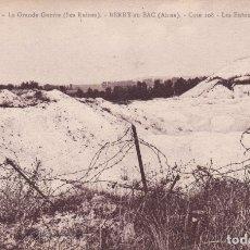 Postales: 107 LA GRANDE GUERRE BERRY FRANCIA (SIN CIRCULAR) . Lote 173469597
