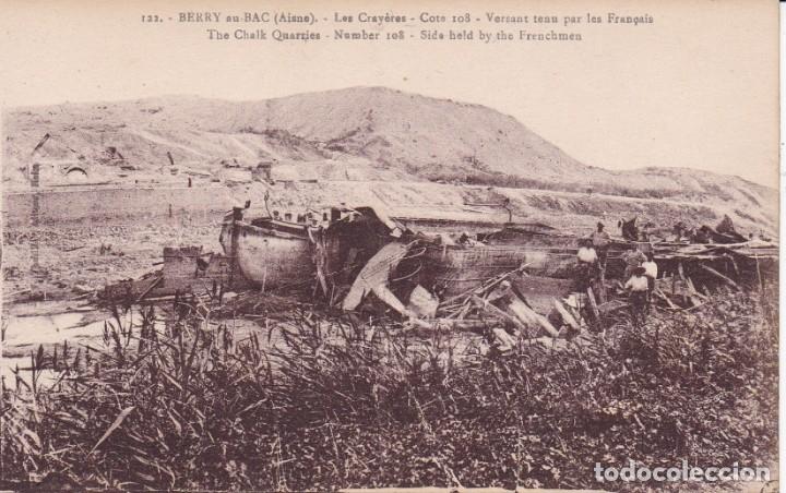 122 BERRY AISNE FRANCIA (SIN CIRCULAR) (Postales - Postales Temáticas - I Guerra Mundial)