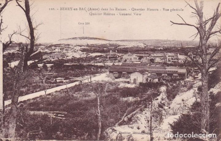 120 BERRY AISNE FRANCIA (SIN CIRCULAR) (Postales - Postales Temáticas - I Guerra Mundial)