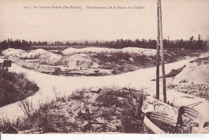 103 LA GRANDE GUERRE FERME DU CHOLÉRA FRANCIA (SIN CIRCULAR) (Postales - Postales Temáticas - I Guerra Mundial)