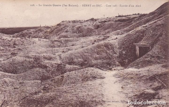 108 LA GRANDE GUERRE BERRY FRANCIA (SIN CIRCULAR) (Postales - Postales Temáticas - I Guerra Mundial)