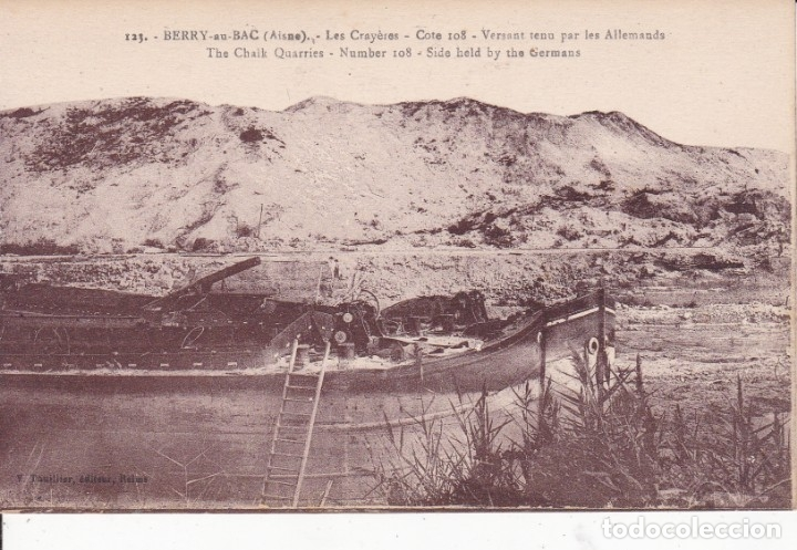 123 BERRY FRANCIA (SIN CIRCULAR) (Postales - Postales Temáticas - I Guerra Mundial)