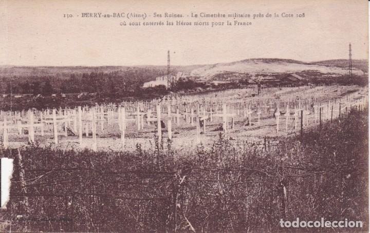 130 BERRY LE CEMETIERE FRANCIA (SIN CIRCULAR) (Postales - Postales Temáticas - I Guerra Mundial)
