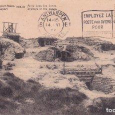 Postales: RUINES DE NIEPORT BAINS 1914 1918 BELGICA. Lote 173498858