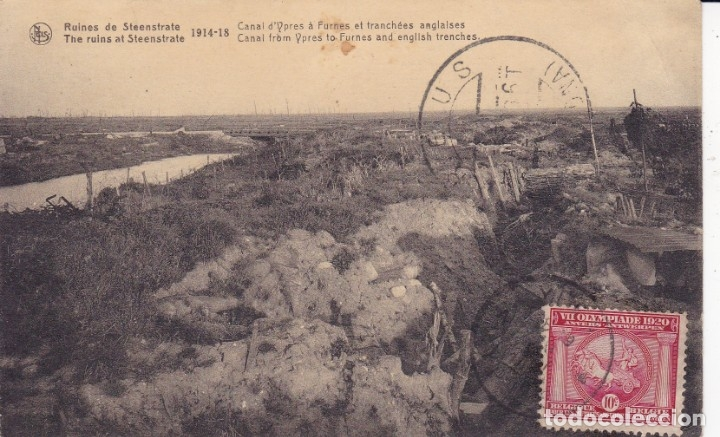 RUINES DE STEENSTRATE 1914 1918 BÉLGICA (Postales - Postales Temáticas - I Guerra Mundial)