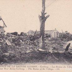 Postales: 806 LES RUINES DE LA GRANDE GUERRE CORBENY. Lote 173728565