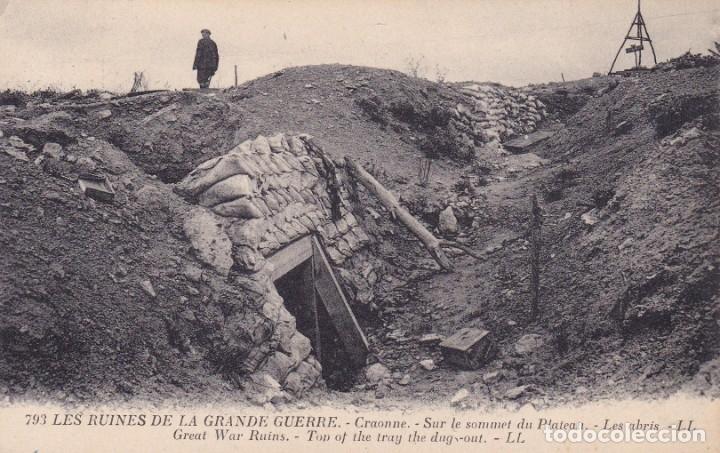 793 LES RUINES DE LA GRANDE GUERRE (Postales - Postales Temáticas - I Guerra Mundial)