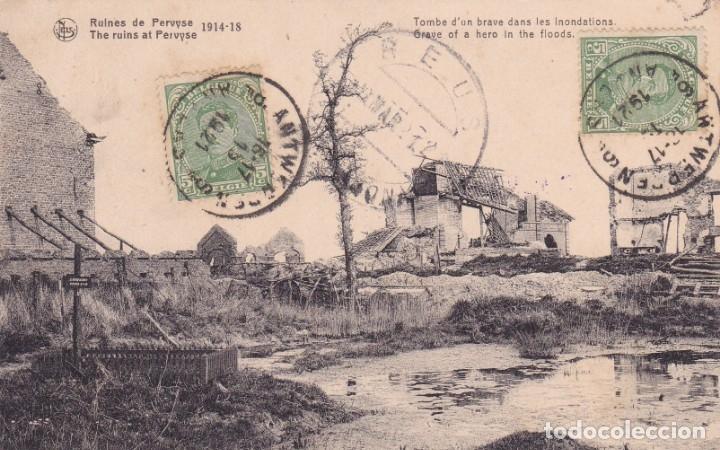 RUINES DE PERUYSE 1914 1918 (Postales - Postales Temáticas - I Guerra Mundial)