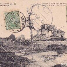 Postales: RUINES DE PERUYSE 1914 1918. Lote 173729522