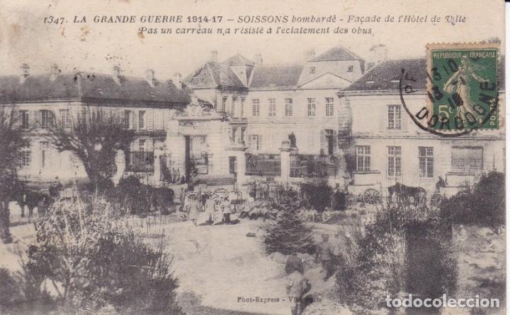 1347 LA GRANDE GUERRE 1914 1917 SOISSONS FRANCIA (Postales - Postales Temáticas - I Guerra Mundial)
