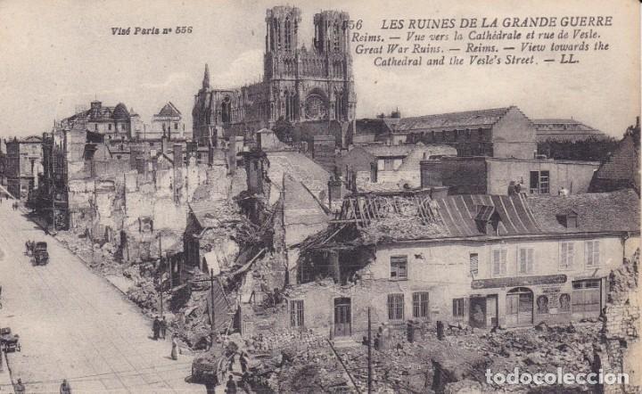 LES RUINES DE LA GRANDE GUERRE (Postales - Postales Temáticas - I Guerra Mundial)