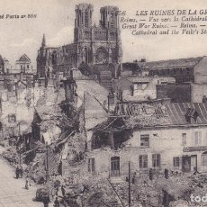Postales: LES RUINES DE LA GRANDE GUERRE . Lote 173731220