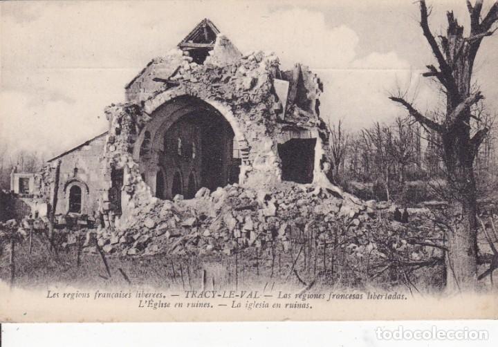 TRACY-LE-VAL FRANCIA (Postales - Postales Temáticas - I Guerra Mundial)