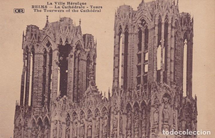 REIMS FRANCIA (Postales - Postales Temáticas - I Guerra Mundial)
