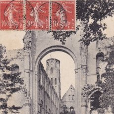 Postales: LA NEF ET LES BAS-COLÉS DE L'EGLISE NOTRE-DAME . Lote 173981472