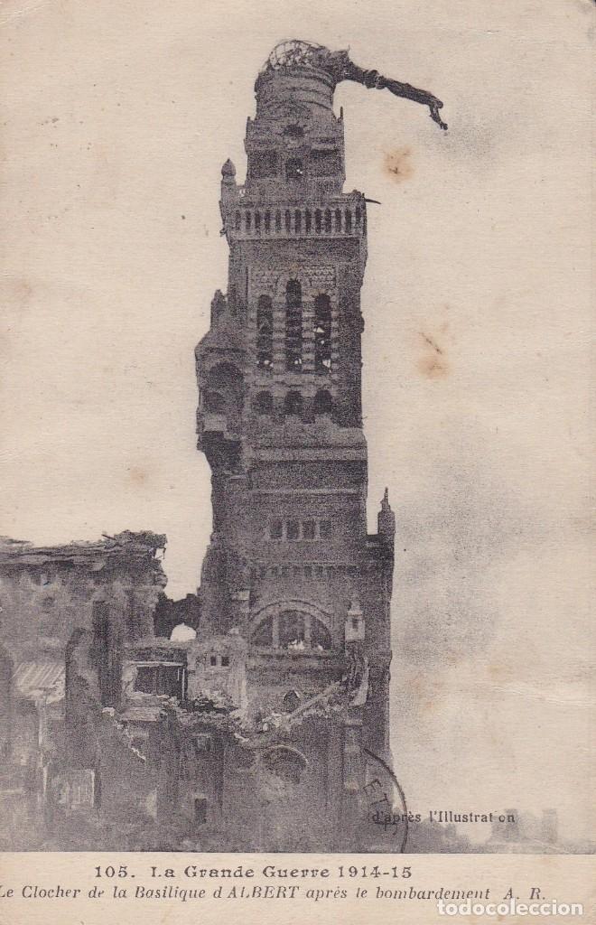 105 LA GRANDE GUERRE 1914 1915 FRANCIA (Postales - Postales Temáticas - I Guerra Mundial)