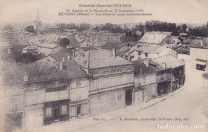 GRANDE GUERRE 1914 1918 FRANCIA REVEGNY MEUSE FRANCIA (Postales - Postales Temáticas - I Guerra Mundial)