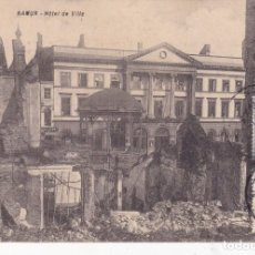 Postales: NAMUR HOTEL DE VILLE BÉLGICA . Lote 173982423