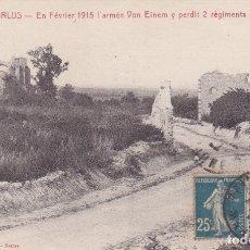 Postales: 1 LES HURLUS EN FÉFVRIER 1915 FRANCIA. Lote 173982504