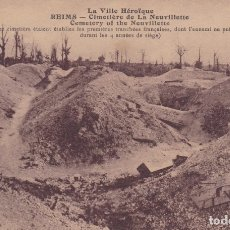 Postales: REIMS CIMETIERE DE LA NEUVILLETTE FRANCIA . Lote 173982845