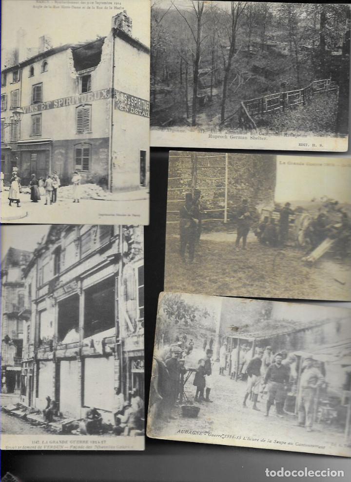 60 POSTALES FOTO * GRAN GUERRA 1914 Y RELACIONADAS * (Postales - Postales Temáticas - I Guerra Mundial)