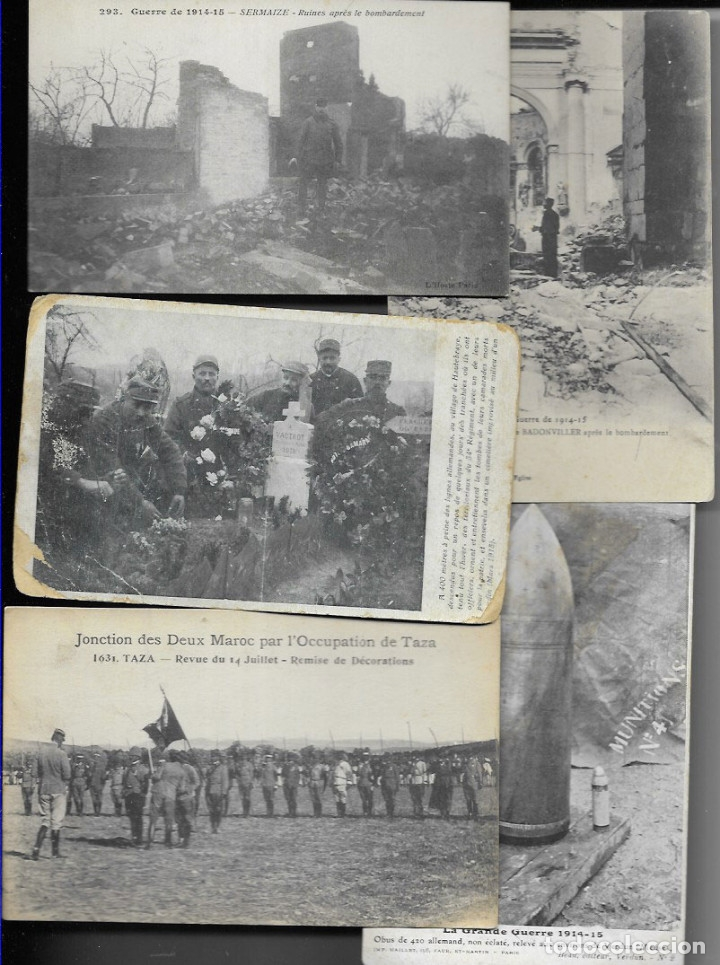 Postales: 60 POSTALES FOTO * GRAN GUERRA 1914 y relacionadas * - Foto 2 - 173989112