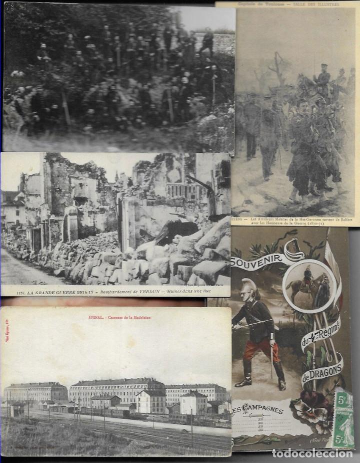 Postales: 60 POSTALES FOTO * GRAN GUERRA 1914 y relacionadas * - Foto 3 - 173989112