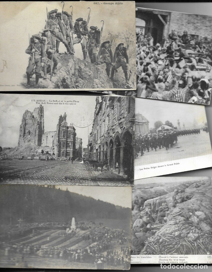 Postales: 60 POSTALES FOTO * GRAN GUERRA 1914 y relacionadas * - Foto 5 - 173989112