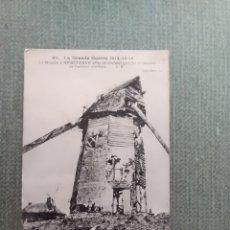 Postales: POSTAL LA GRENDE GUERRE 1914-15-16 , LE MOLUIN D'HEBUTERNE. Lote 182163968