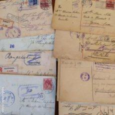 Postales: 34 TARJETA POSTAL, PRIMERA GUERRA MUNDIAL,MARCAS POSTALES . Lote 182766841