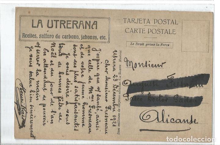 Postales: EL MARISCAL FOCH-COMANDANTE EJERCITOS ALIADOS-I GUERRA MUNDIAL-LA UTRERANA-VER REVERSO-(64.978) - Foto 2 - 184642067