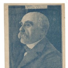 Postales: GEORGES CLEMENCEAU-I GUERRA MUNDIAL-LA UTRERANA-VER REVERSO-(64.979). Lote 184642148