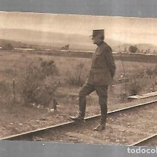 Postales: POSTAL. I GUERRA MUNDIAL. EN MACEDONIA. EL GENERAL SARRAIL. ALEX JOUVENE EDITOR. Lote 185698540