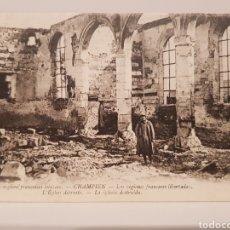 Postales: LES REGIONS FRANÇAISES LIBÉREES/ CHAMPIEN/ ESCRITA/ ORIGINAL DE ÉPOCA/ AÑO 1919/ 9× 14 CTM. Lote 186452551