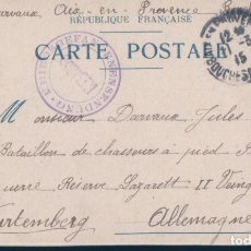 Postales: POSTAL REPUBLIQUE FRANCAISE CARTE POSTALE. Lote 188533905