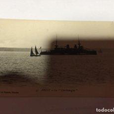 Postales: CARTE POSTALE BREST LE CHARLEMAGNE 1919. Lote 190857460