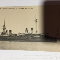 Postales: CARTE POSTALE MARINE DE GUERRE L AMIRAL AUBE . Lote 190857951