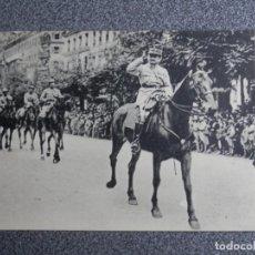 Postales: EL GENERAL MANGIN DESFILE VICTORIA EN PARÍS 1ª GUERRA MUNDIAL POSTAL ANTIGUA. Lote 192020875