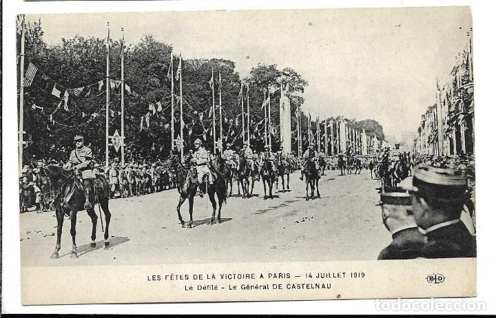 POSTAL ANTIGUA DE - LA GUERRA 1914-1915 - DESFILE DE LA VICTORIA PARIS -EDIT. E.L.D.- NUEVA (Postales - Postales Temáticas - I Guerra Mundial)