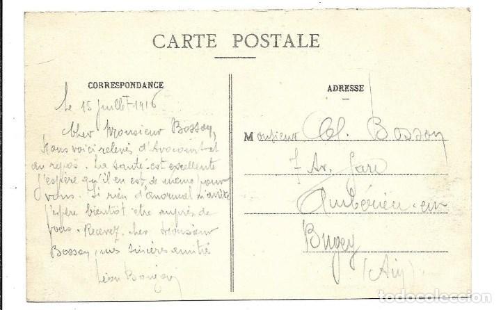 Postales: POSTAL ANTIGUA DE -LA GUERRA 1914-1915 -VISTA GENERAL BOMBARDEO EN MARNE-EDIT-HUMBERT-ESCRITA 1.918 - Foto 2 - 193071816