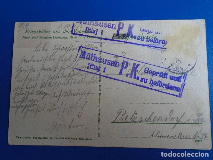 Postales: KRIEGSBILDER CIRCULADA CON CENSURA 1913 - Foto 2 - 193846347