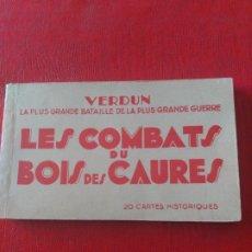 Postales: VERDUN. LES COMBATS DU BOIS DES CAURES. Lote 195398032